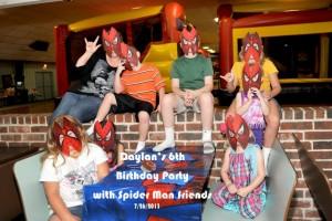 birthday-party-spiderman